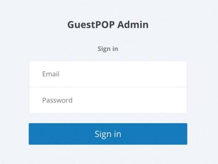 GuestPop Admin
